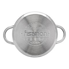 Кастрюля BAMBINO 12x7,5 см / 0,8 л со стекл. крышкой Fissman 5272