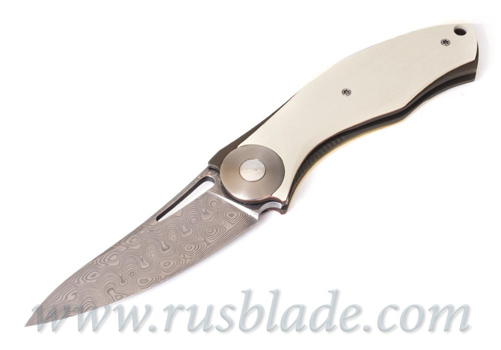FULL CUSTOM Sinkevich Light Knife Silver accent one-off