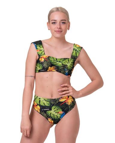 Спортивный топ Nebbia Miami retro bikini - top 553 seaqual green