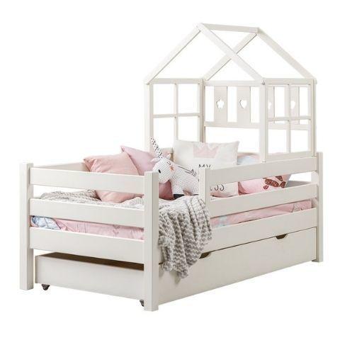 Детская кровать с бортиком и ящиками Кидс 25