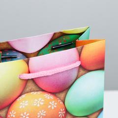 Пакет ламинированный вертикальный «Пасхальные угощения», 12х15х5.5 см