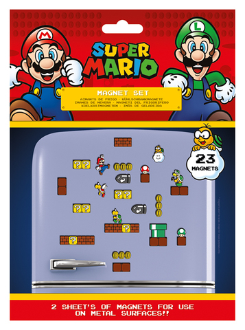 Набор магнитов Super Mario