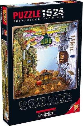 Puzzle Dört Mevsim. Four Seasons 1024 pcs