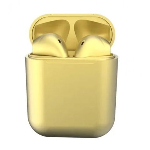 Беспроводные наушники InPods 12 золотистые