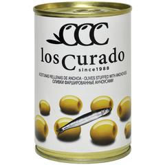 Los Curado Оливки фаршированные анчоусами,  300г