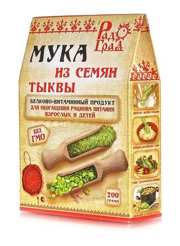 Мука из семян тыквы, 200 гр. (Радоград)