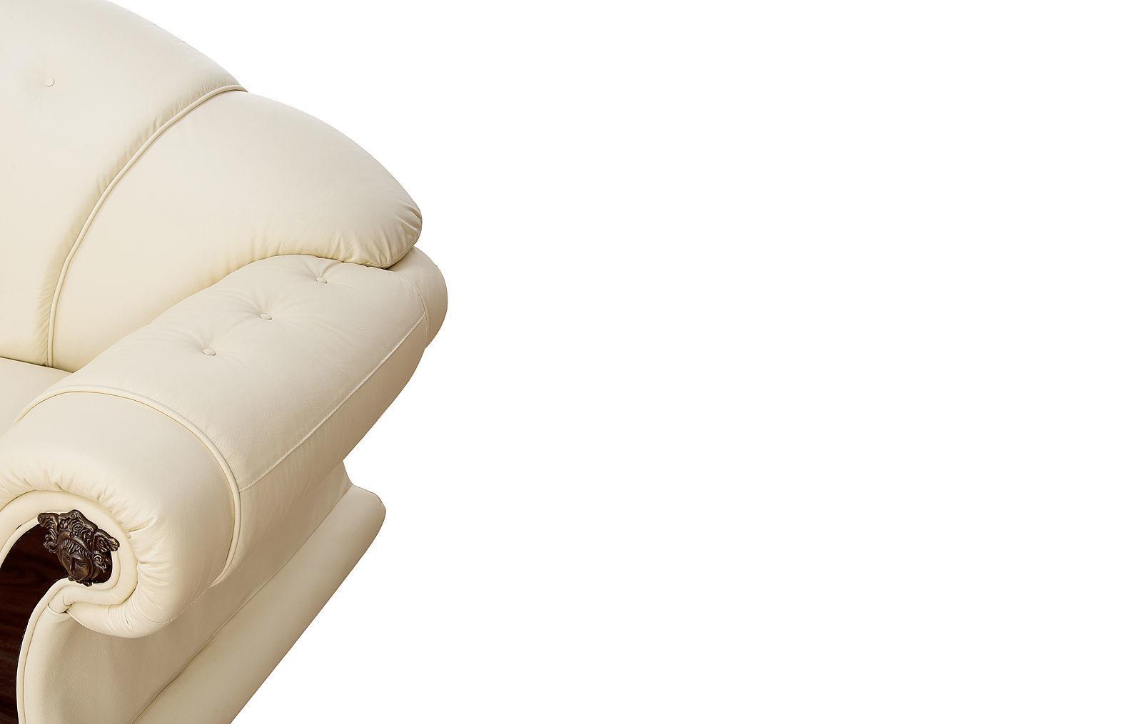 Диван ESF Versace угловой белый угол правый