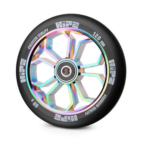 колесо +для трюкового самоката hipe 120 мм