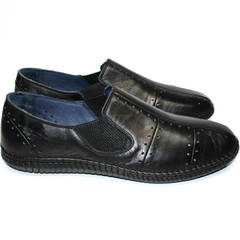 Туфли мужские кэжуал Luciano Bellini 107607 Black.