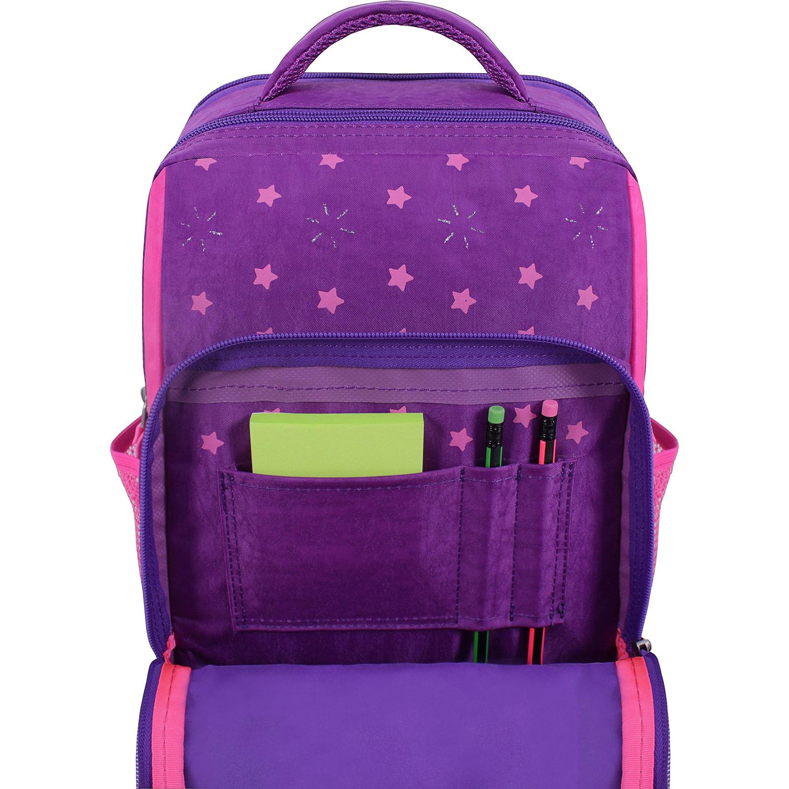 Рюкзак школьный Bagland Школьник 8 л. Фиолетовый 503 (00112702) фото 4