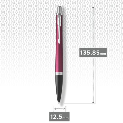 Ручка шариковая Parker Urban  Core, Vibrant Magenta CТ.123