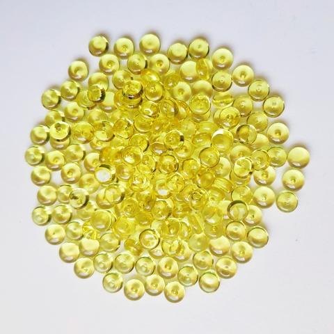 Фишболы для слайма гранулят желтый