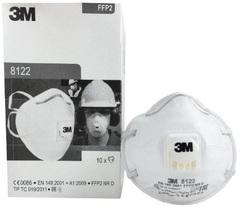 Респиратор 3M™ 8122 противоаэрозольный FFP2 с клапаном выдоха