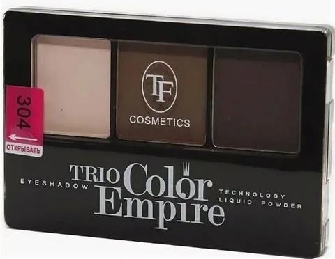 ТФ Тени трехцветные компактные тон 304 шоколад CTE-22