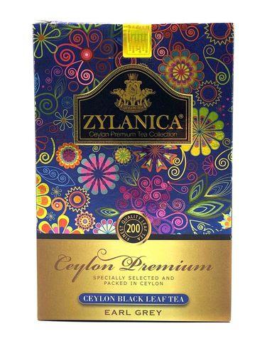 Цейлонский черный чай с бергамотом Ceylon Premium Collection, Zylanica, 200 г