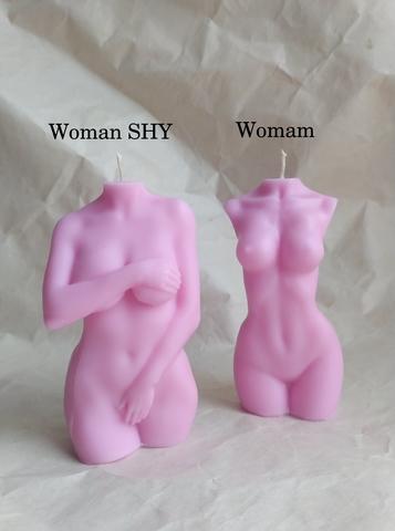 Свеча WOMAN 10cm / Rose