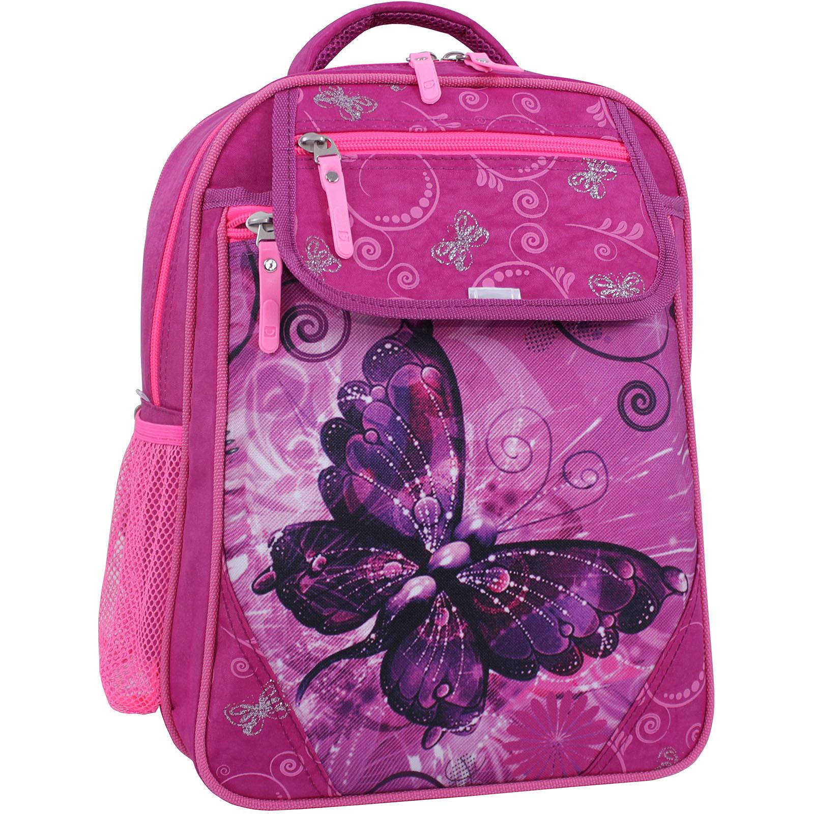 Детские рюкзаки Рюкзак школьный Bagland Отличник 20 л. Малиновый 615 (0058070) IMG_1236_суб.615_.JPG