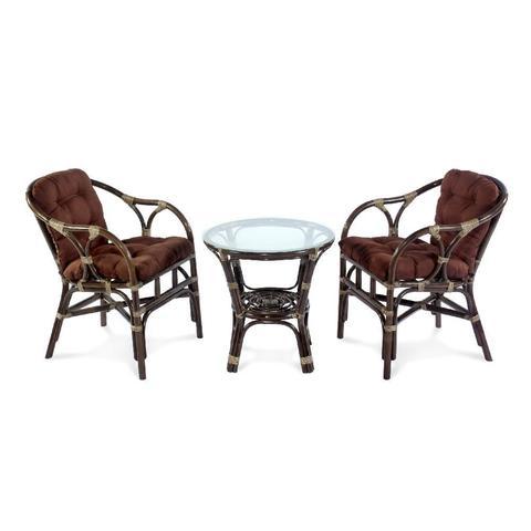 Комплект кофейный TERRACE Set (стол + 2 кресла), 11/05 Б