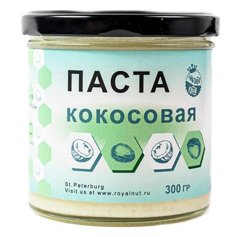 Кокосовая паста  с ПРОТЕИНОМ веган Royal Nut 300 г