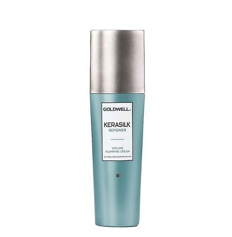 Крем легкий термозащитный с кератином для объема волос, Goldwell Kerasilk Repower Volume Plumping Cream, 75 мл.