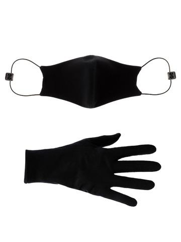 Набор: маска и перчатки(многоразовые)