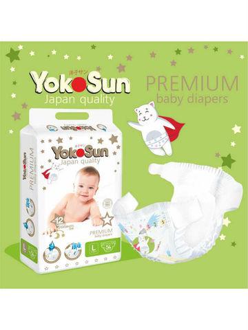 Подгузники YokoSun Premium L 9-13 кг 54 шт
