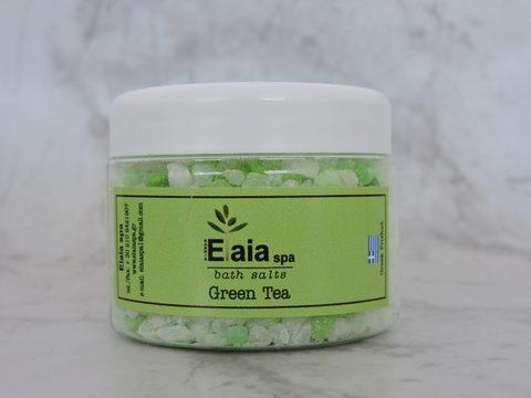 Морская соль для ванны Зеленый чай ElaiaSpa