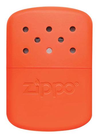 Каталитическая грелка Zippo, сталь с покрытием Blaze Orange, оранжевая, 66x13x99 мм