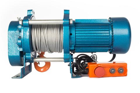 Лебедка TOR ЛЭК-500 E21 (KCD) 500 кг, 380 В с канатом 100 м, шт