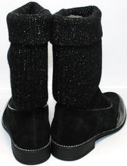 Модные полусапожки женские Kluchini 5161 k255 Black