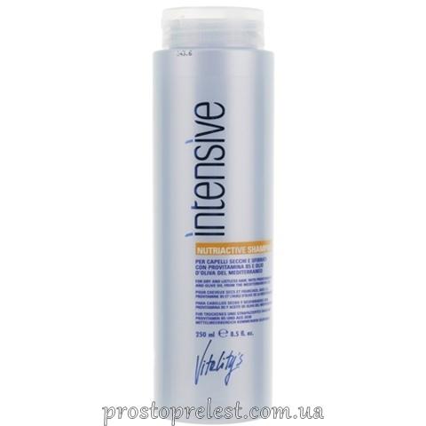 Vitality's Intensive Nutriactive Shampoo - Поживний шампунь для сухого і пошкодженого волосся