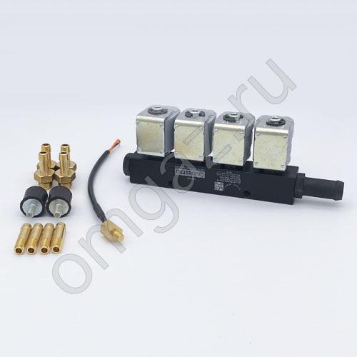 Рейка инжекторная 4 цилиндра Digitronic тип 30