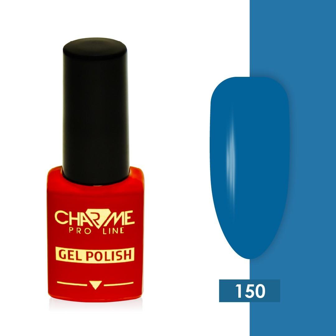 Гель-лак 150 - синяя пыль Charme 10 мл