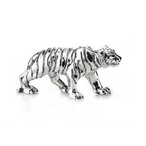 Спокойный тигр - Символ 2022 года. Серебрение