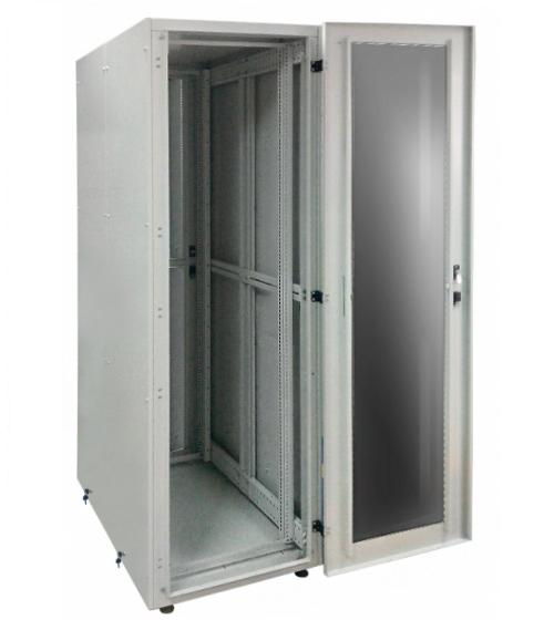 Заказать и купить Шкаф серверный 19 СрШ-47U-06-08-ДС со стеклянной дверью: цена в Москве от производителя