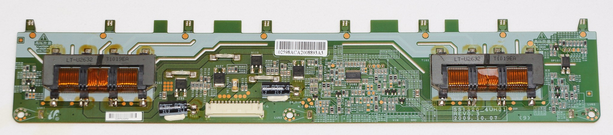 SSI320_4UH01 REV0.3 инвертор телевизора Samsung