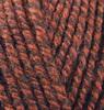 Пряжа Alize SUPERLANA MIDI 905 (Красно-бордовый жаспе)