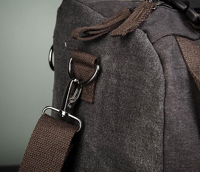 BAG479-1 Большой рюкзак трансформер из текстиля фото 05