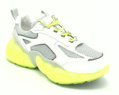 Кроссовки светоотражающие на утолщенной подошве