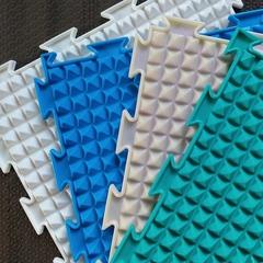 Массажный коврик Льдинки жесткие модульный коврик-пазл