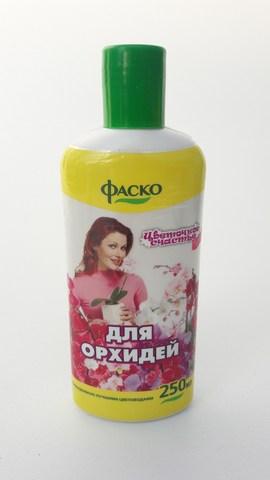 """Удобрение для орхидей ФАСКО, 250мл """"Цветочное счастье"""""""