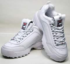 Модные кроссовки для девушек Fila Disruptor II
