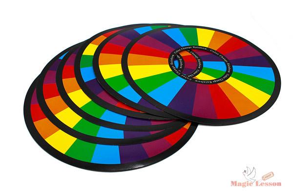Диски, меняющие цвета