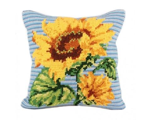 Подушка для вышивания Подсолнух