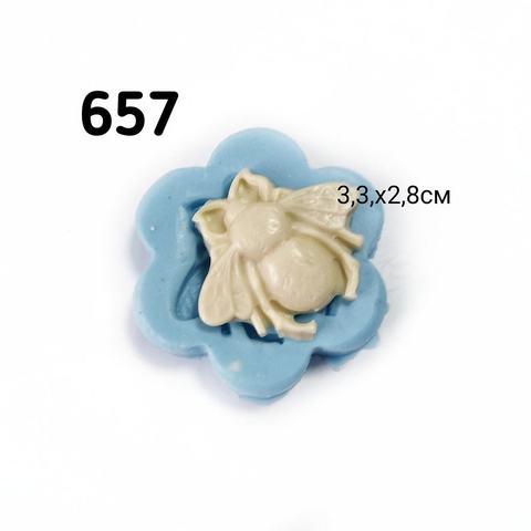 0657 Молд силиконовый Шмель (Муха)