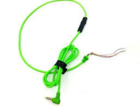 Кабель для Razer Kraken, Kraken Pro зеленый