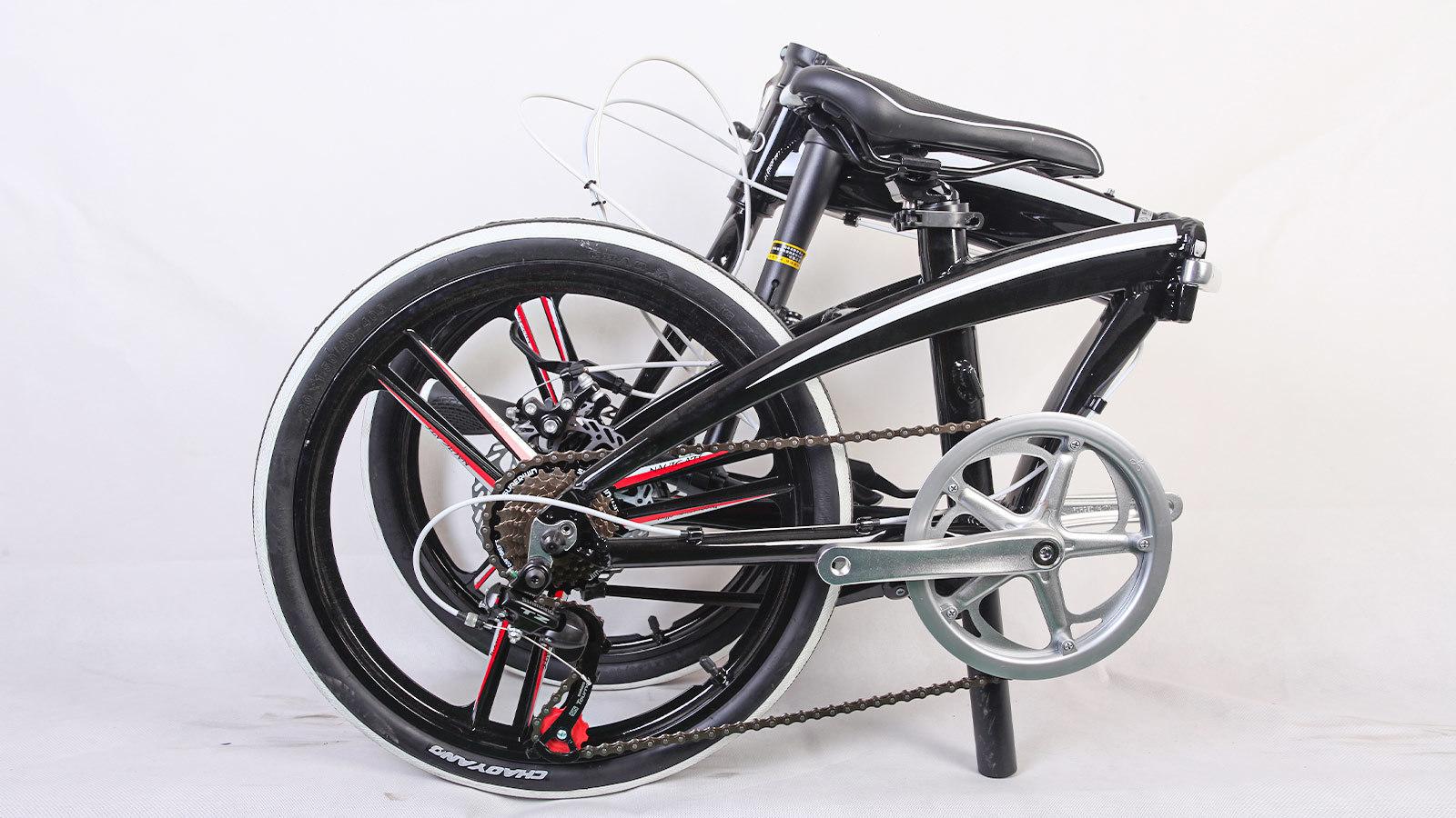 складной велосипед взрослый колесо заднее