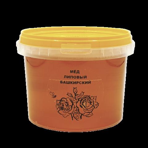 Мёд натуральный ЛИПОВЫЙ БАШКИРСКИЙ, 1 кг