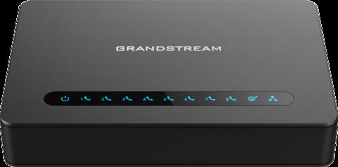Grandstream HT818 - телефонный адаптер. 8xFXS, 1xLAN, 1xWAN, (1GbE)Gigabit Ethernet