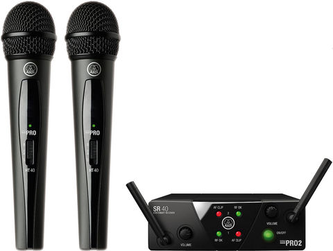 AKG WMS40 Mini2 Vocal Set BD ISM2 / 3 EU / US / UK вокальна радіосистема
